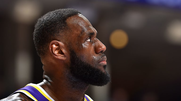 LeBron James Says That the Lakers' Push to Get Into the Playoffs Isn't a Distraction