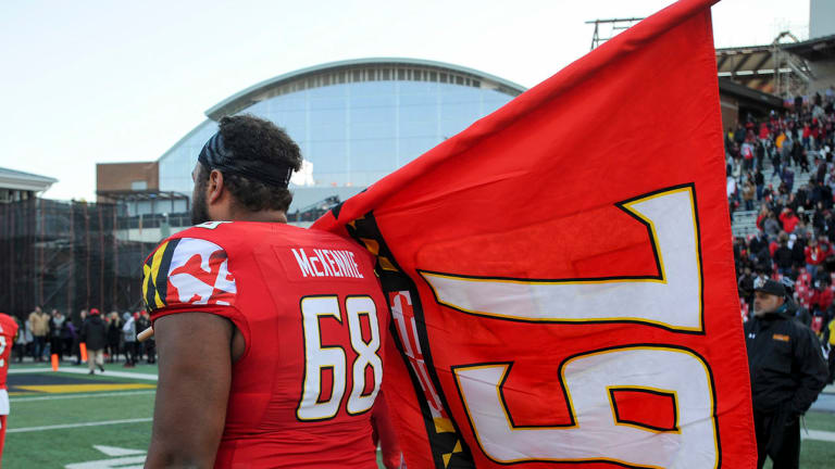 Maryland Players and More Pay Tribute to Jordan McNair After 79–0 Win