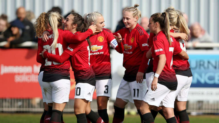 Women's Championship Roundup: Man Utd Take Huge Stride Towards Title After Hammering Nearest Rivals