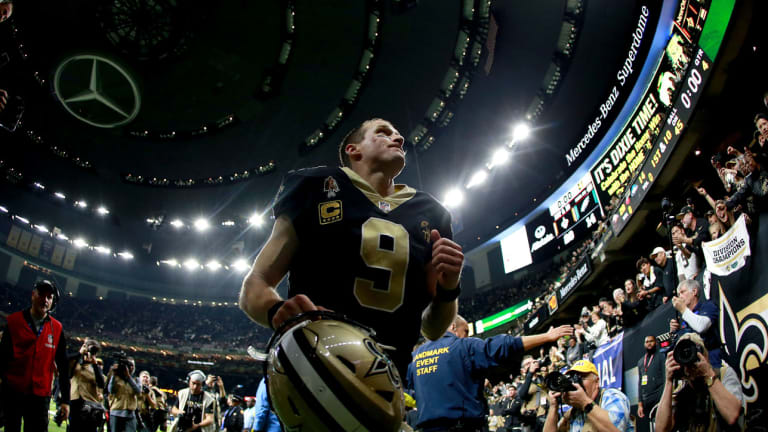 What happened the last time the Saints played without ...
