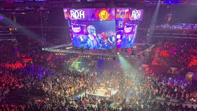 Kazuchika Okada Wins IWGP Title at Star-Laden Madison Square Garden Show