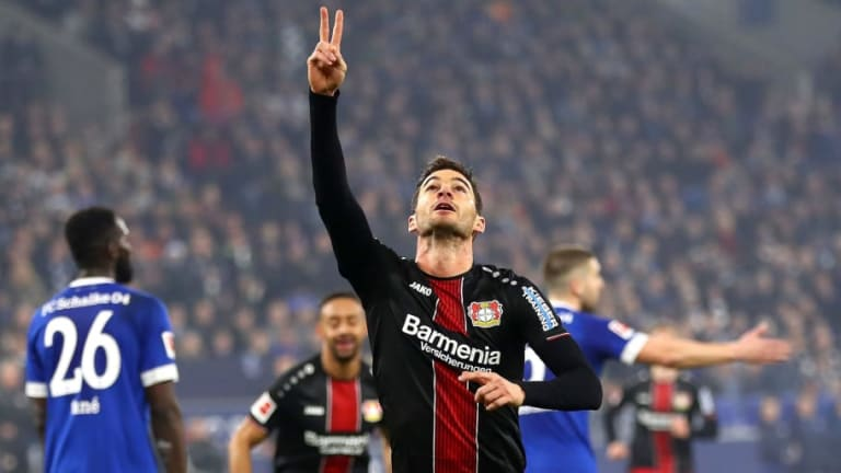 Atletico Madrid Target Summer Move for Bayer Leverkusen's €30m-Rated Forward Lucas Alario
