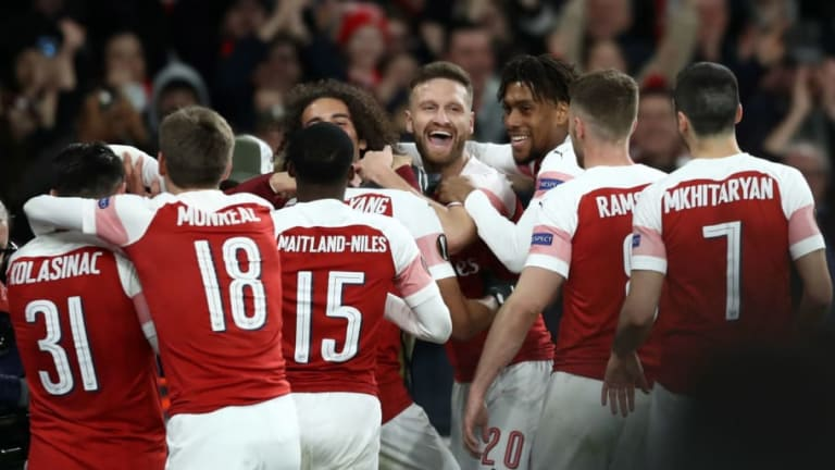 Arsenal 3-0 Rennes (Agg 4-3): Report, Ratings & Reaction as Gunners Reach Europa League Last 8
