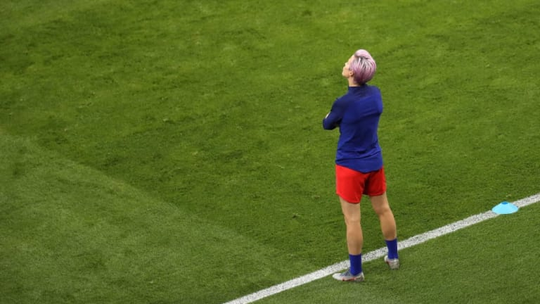 Megan Rapinoe Explains Shock Absence From USWNT's Women's World Cup Semi-Final Win Over England