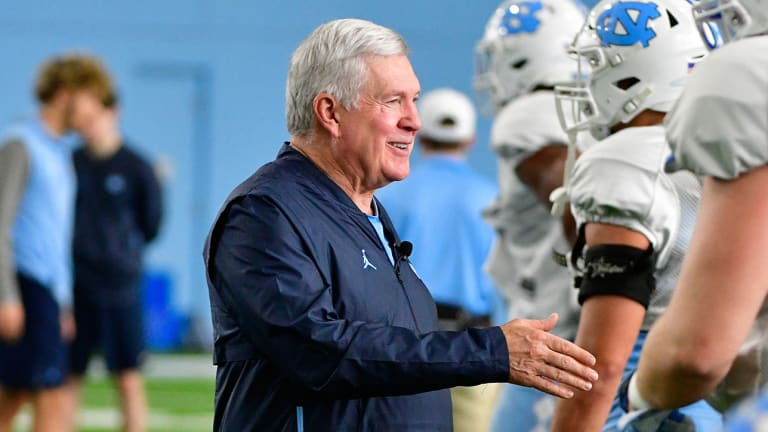 Back in Carolina Blue, Mack Brown Is Rebooting UNC With Something Old and Something New