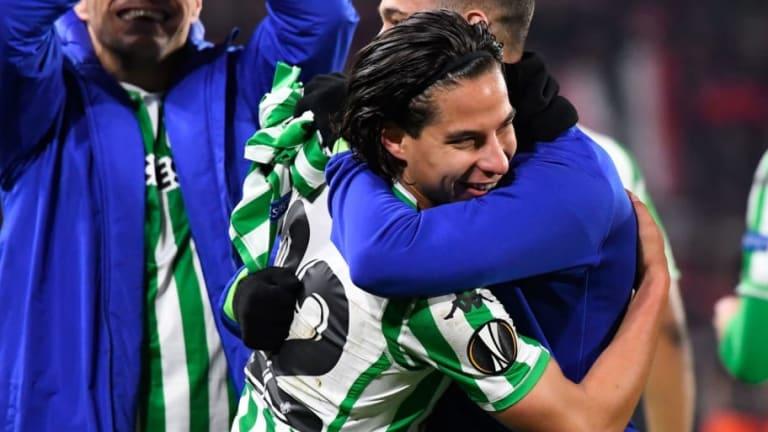 Andres Guardado recomienda a Diego Lainez bajar su perfil