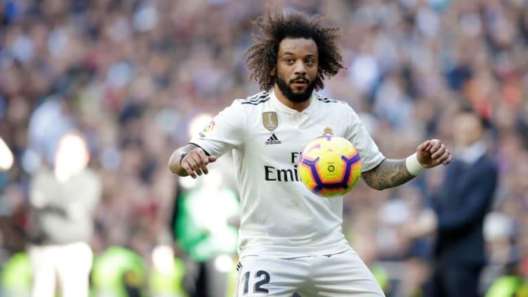 El Real Madrid ganó un solo partido de los últimos nueve en los que Marcelo fue titular