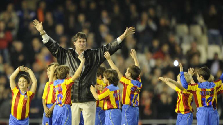 Las leyendas del Valencia que estarán presentes en el centenario del club
