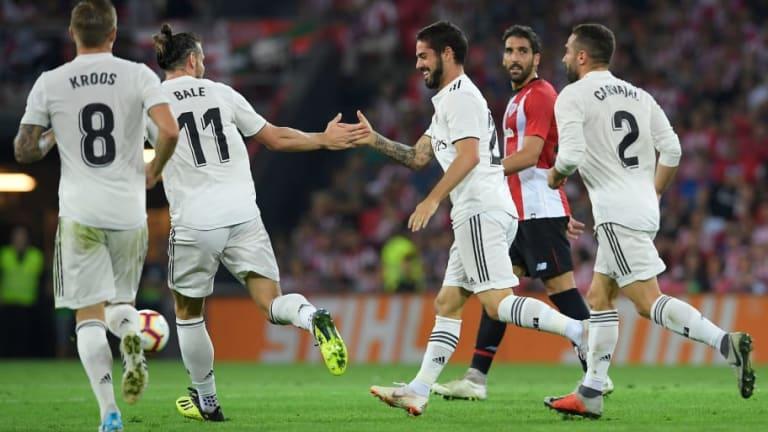 Bale e Isco están en la rampa de salida del Real Madrid