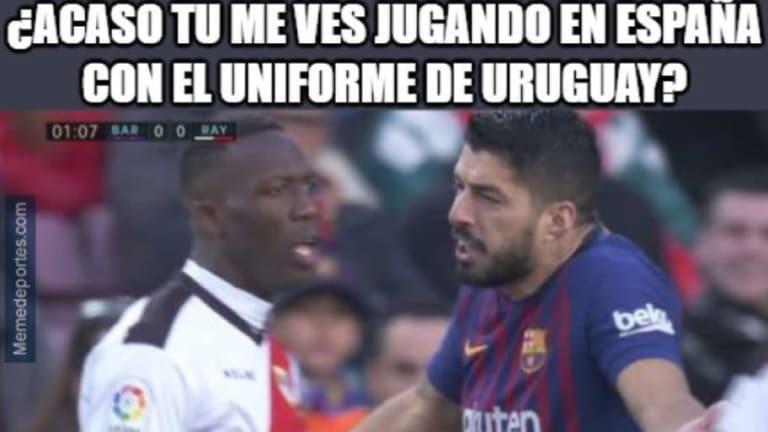 Los mejores memes de la victoria del FC Barcelona sobre el Rayo, Advíncula, Murillo y más