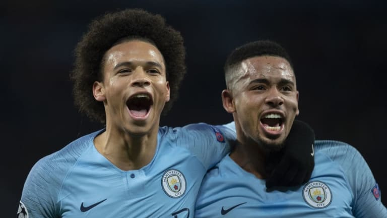 The Stats That Show How Important Leroy Sane & Gabriel Jesus Are to Manchester City