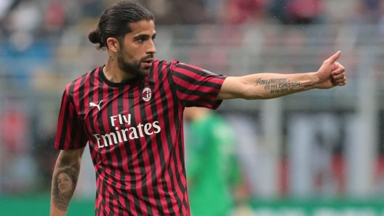 Ricardo Rodriguez Drawing Interest From Barcelona & Arsenal With Milan Defender's Future Uncertain