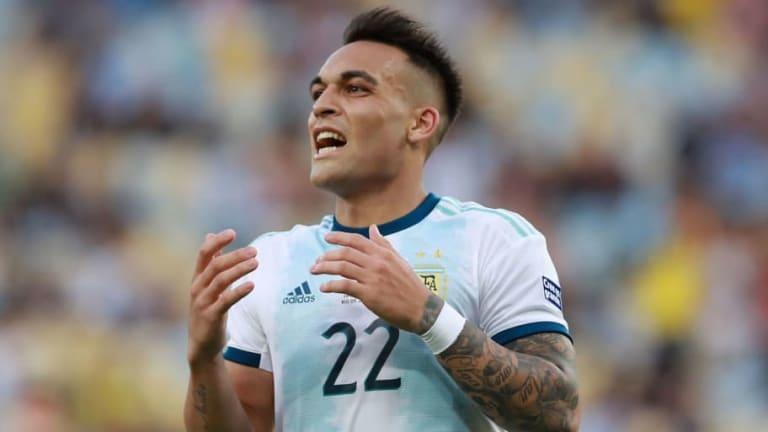 La estadística en la que Lautaro Martínez superó a Messi, Maradona y Batistuta con la Argentina
