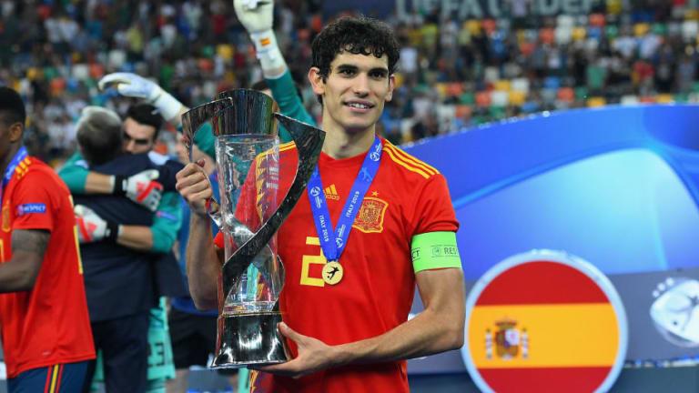 La despedida de Vallejo del Real Madrid tras su cesión al Wolverhampton