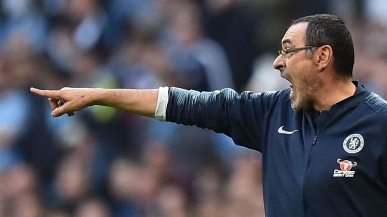 Maurizio Sarri Claims Dressing Room Control Is 'Better' After Incident With Kepa