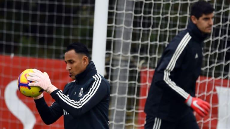 """El mensaje de Courtois sobre la portería del Real Madrid: """"Está claro quién es el número uno"""""""