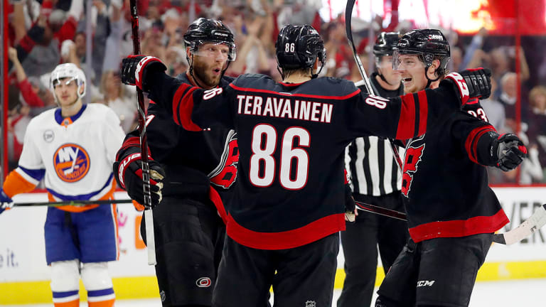 Hurricanes Put on Defensive Clinic to Push Islanders to the Brink