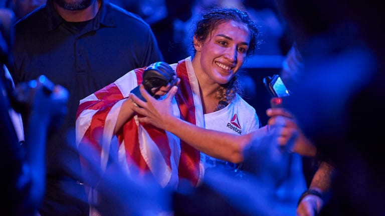 Tatiana Suarez Doesn't Fear Challengers After Tapping Out Cancer