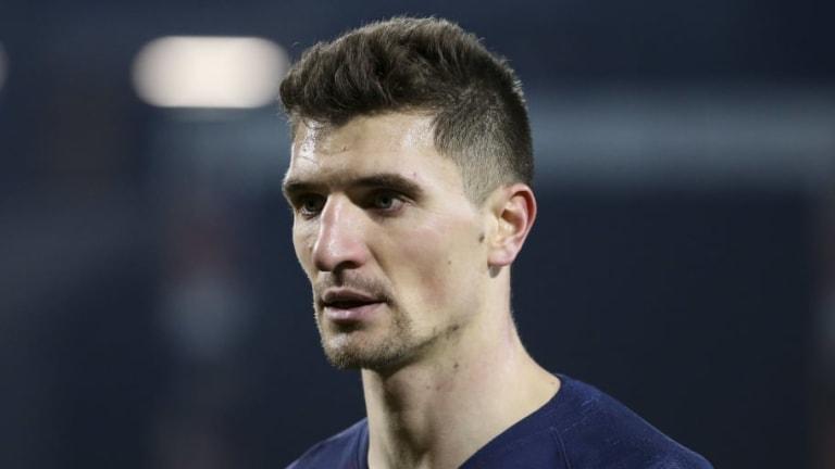 Everton Have With Move for Paris Saint-Germain Defender Thomas Meunier
