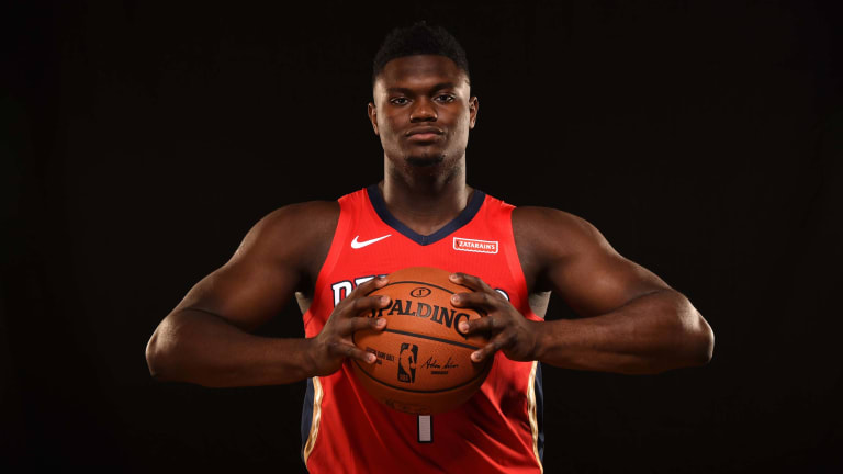 Where Would Zion Williamson Rank If Eligible for SI's Top 100?   Open Floor Podcast