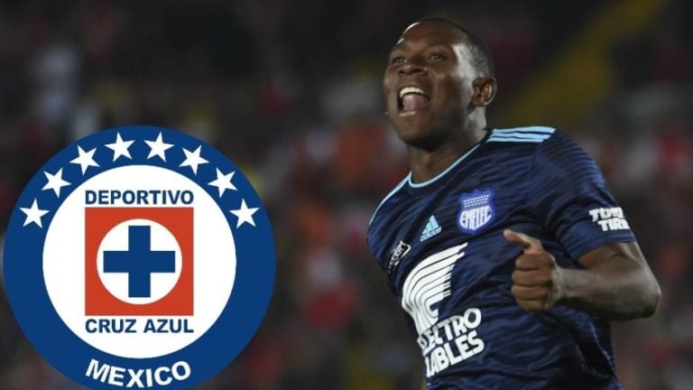 Brayan Angulo, convocado por Cruz Azul para enfrentar al Galaxy