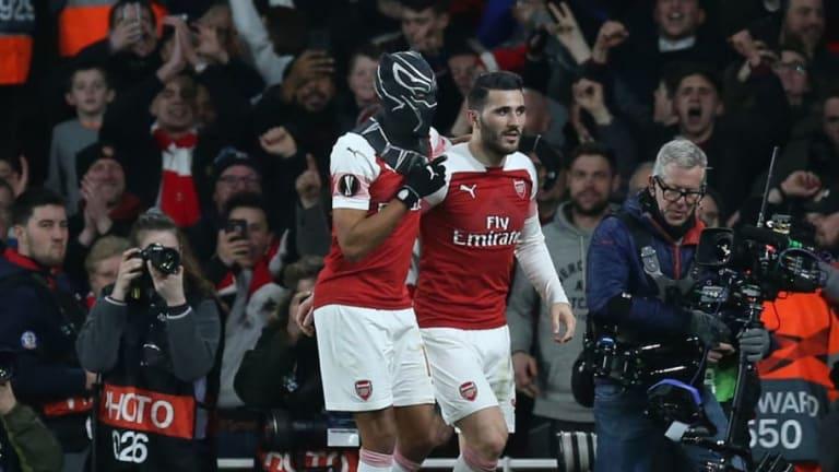 Pierre-Emerick Aubameyang Reveals Reason Behind Black Panther Mask Celebration in Arsenal Comeback