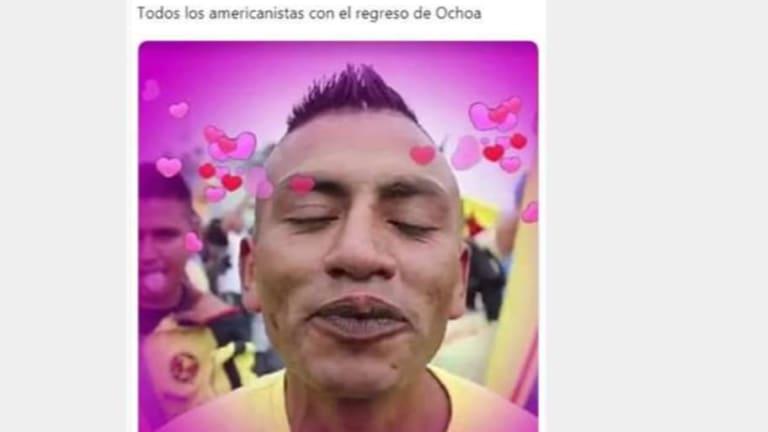 Los mejores memes sobre el regreso de Memo Ochoa al América