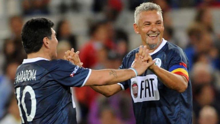Roberto Baggio confesó cómo fue que se hizo hincha de Boca