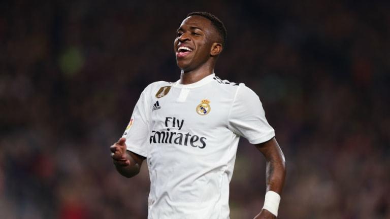 El París Saint-Germain quiere a Vinicius Junior