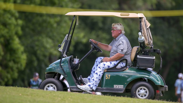 John Daly Approved to Use Cart at PGA Championship for Injured Right Knee