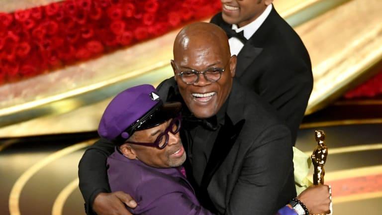 Watch: Samuel L. Jackson Announces Knicks Win at the Oscars