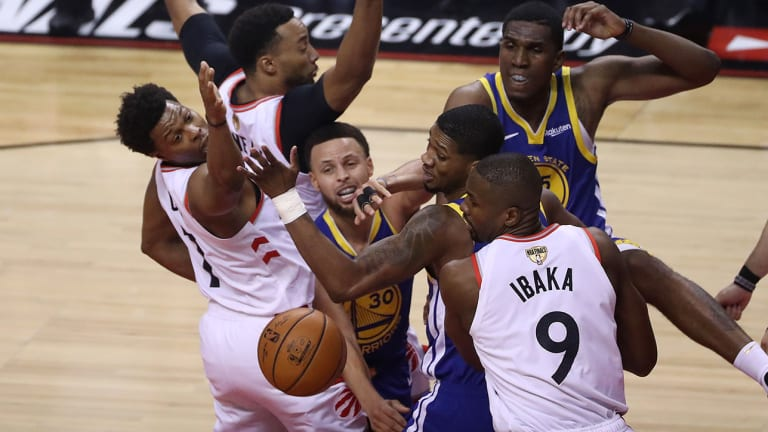 Raptors' Defensive Masterpiece Stifles Warriors in Game 1 of NBA Finals