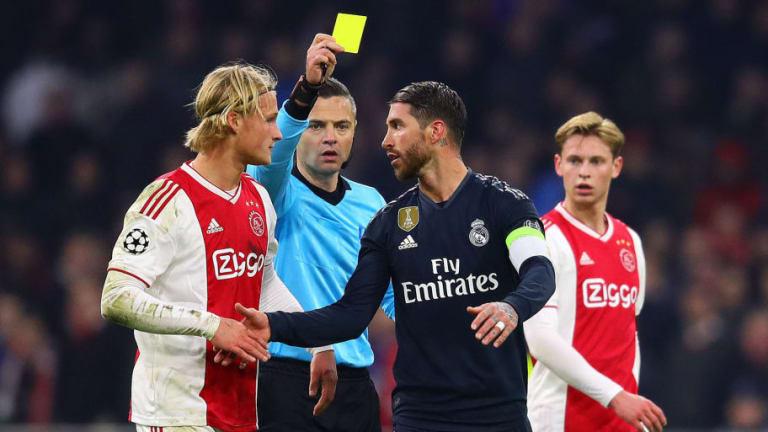 La UEFA abre una investigación a Sergio Ramos por forzar la tarjeta amarilla