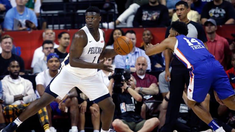 Zion Williamson Creates Raucous Atmosphere in Summer League Debut