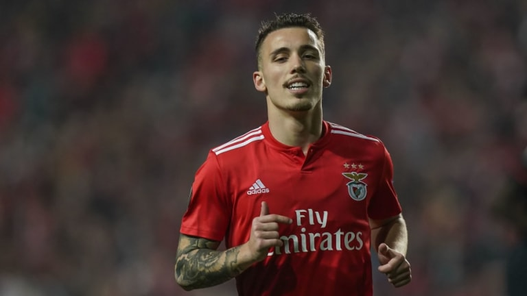 Arsenal Scouts Watch Benfica Full Back Alex Grimaldo Ahead of Potential Summer Transfer