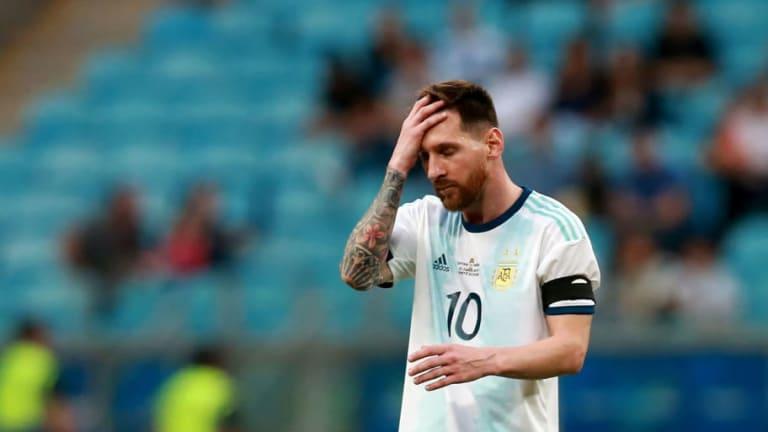 """El crudo consejo de un ex mundialista argentino: """"A Messi hay que agarrarlo del cuello en el cuarto"""""""