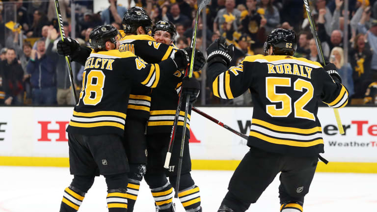 Supporting Cast Powers Bruins Past Maple Leafs and Into East Semis