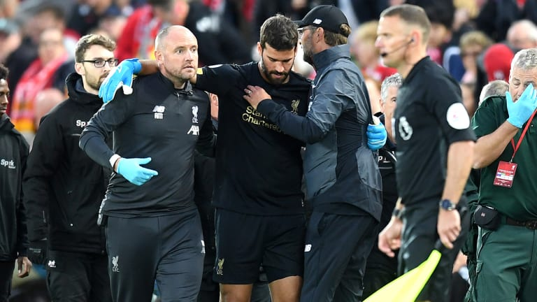 Despite an Emphatic Win vs. Norwich City, Alisson Injury Now Hangs Over Liverpool