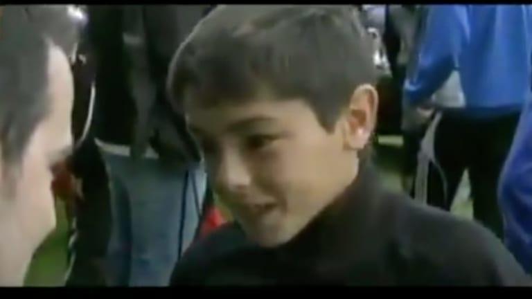 Vídeo | Brahim Díaz había reconocido ser aficionado del Barcelona