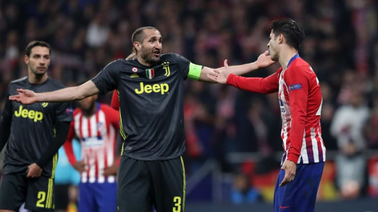 Giorgio Chiellini Insists Juventus Can Find Atletico Madrid's 'Weak Points' in Crucial UCL 2nd Leg