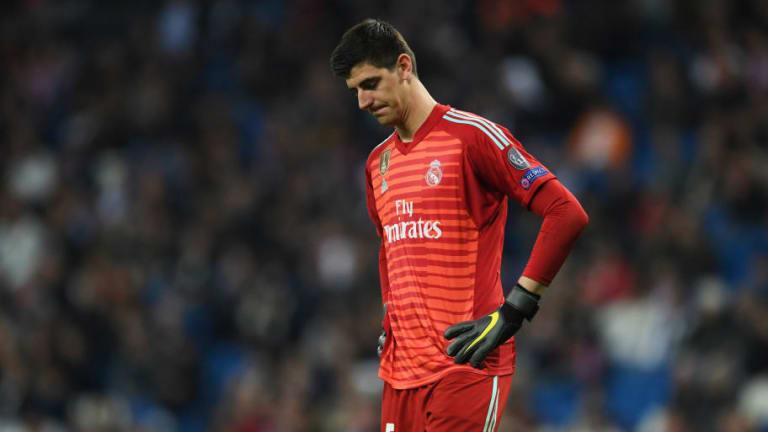 La horrible estadística de Courtois esta temporada que explica el mal momento del Real Madrid