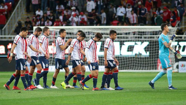 Chivas tendría 4 bajas sensibles para el partido contra Cruz Azul