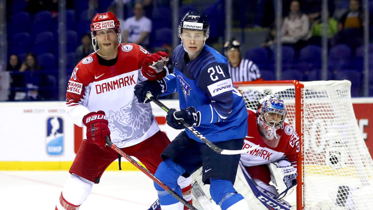 Kaapo Kakko Lifts Finland Over Denmark, Anthony Mantha Carries Canada Past France