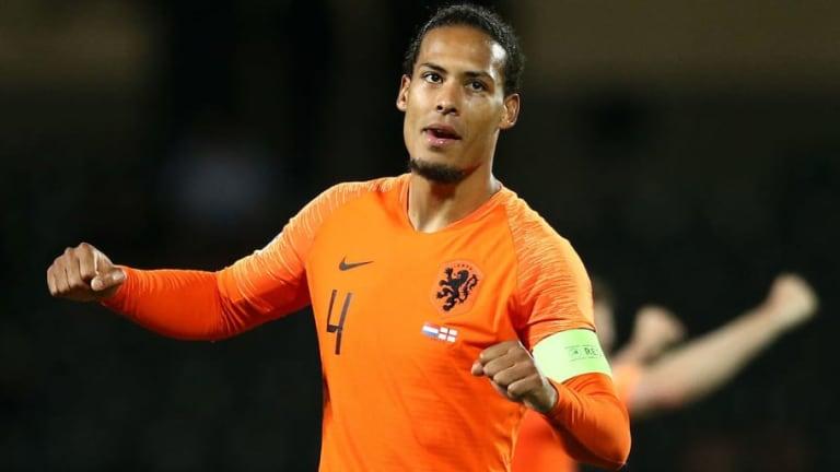 Gerard Pique Sends Virgil van Dijk Warning About Ballon d'Or Chances