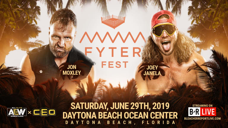AEW's Fyter Fest to Stream for Free on B/R Live