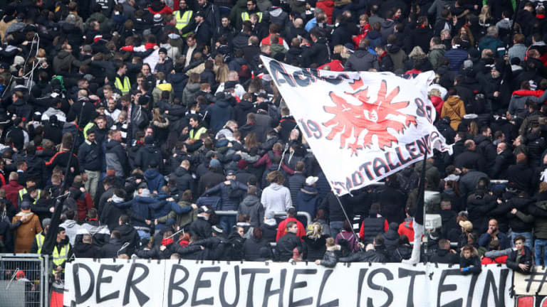 Inter's Europa League Clash With Eintracht Frankfurt Declared by Police as a 'High Risk Game'