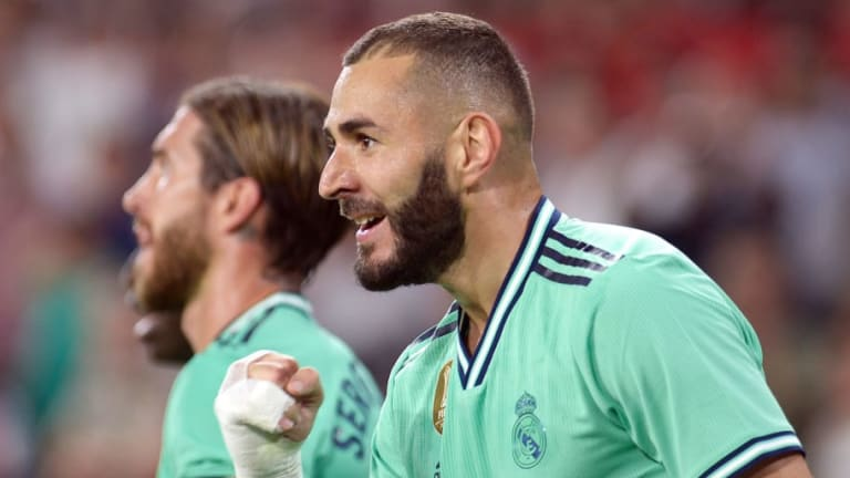 Sevilla 0-1 Real Madrid: Report, Ratings and Reaction as Karim Benzema Header Seals Los Blancos Win