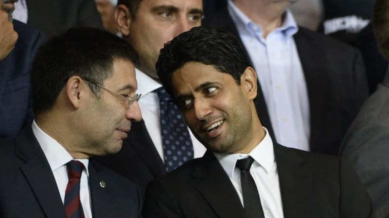 Bartomeu y Nasser Al-Khelaïfi se reunirán en Liverpool para hablar de Neymar