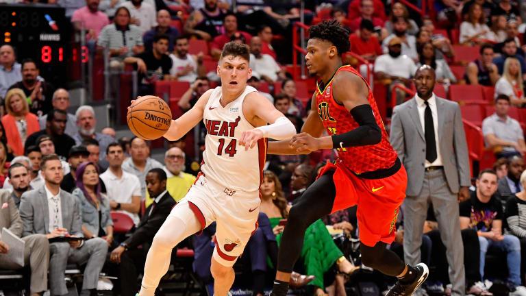 Heat vs. Hawks Live Notebook