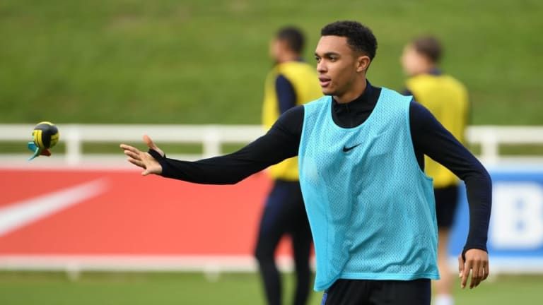 Trent Alexander-Arnold Pulls Out of England Squad With Back Injury Ahead of Euro 2020 Qualifiers